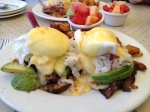 Crab Poached Eggs - Sandbar & Grill
