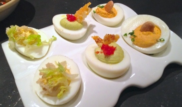 Trio of Deviled Eggs - Jasper's Corner Tap