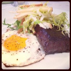 Blood Sausage & Eggs - Sidecar Restaurant