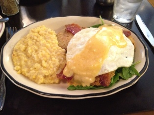 Fried Green Tomatoes & Eggs