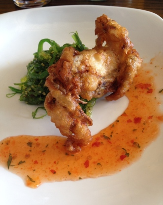 Soft Shell Crab - Golden Road Brewery