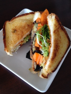 Persimmon & Eggplant Panini - Scratch Food Truck